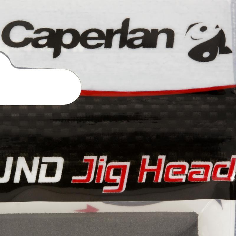 Tête plombée pêche aux leurres ROUND JIG HEAD x4 5 gr