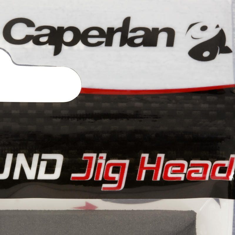Cabeza plomada para pesca con señuelos ROUND JIG HEAD x4 7g