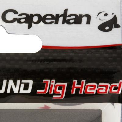 Tête plombée pêche aux leurres ROUND JIG HEAD x4 7 gr