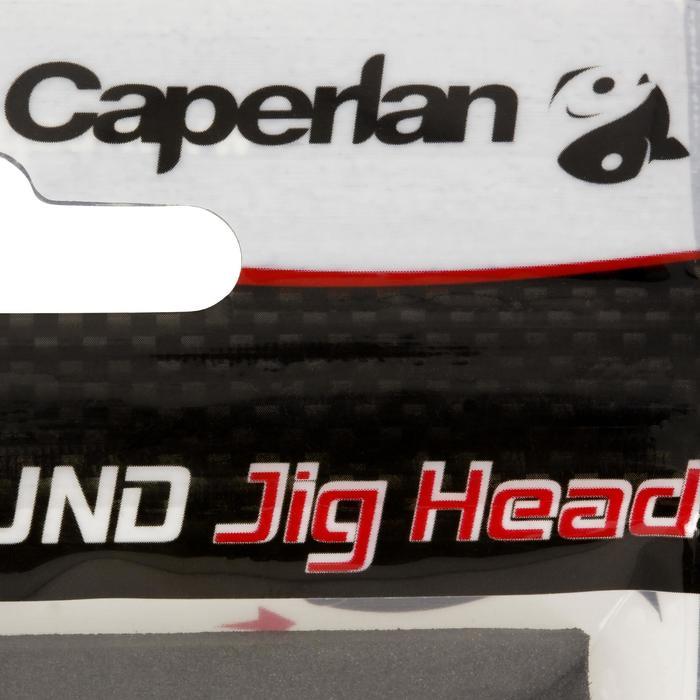 Jigkop voor kunstaashengelen Round Jig Head x4 10 g