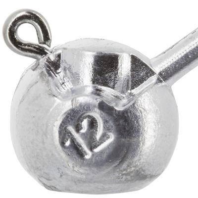 Кругла джиг-голівка для спінінгової ловлі, x4, 12 г