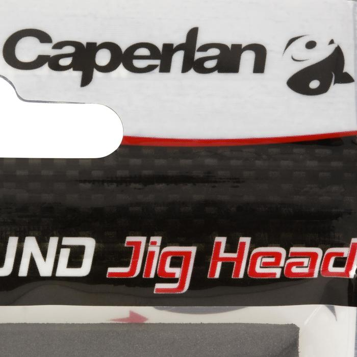 Jigkop voor kunstaashengelen Round Jig Head x 4 - 12 g