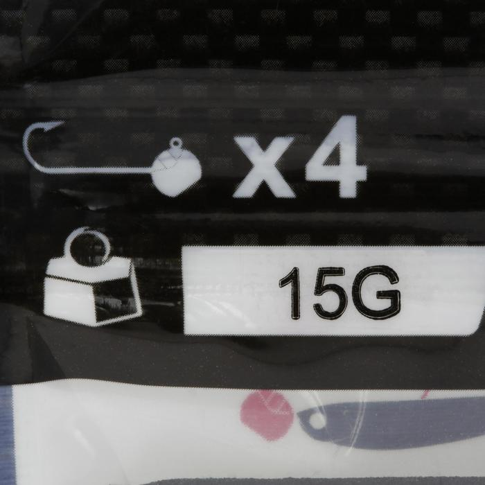 Cabeza Plomada Pesca Con Señuelos Round Jig Head x4 15 g