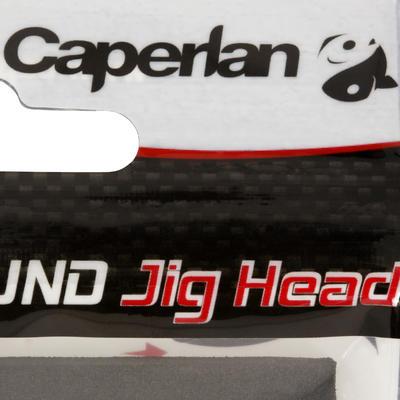 ראשי ג'יג מעוגלים x4 15g עם משקולת לדיג עם פיתיונות מלאכותיים