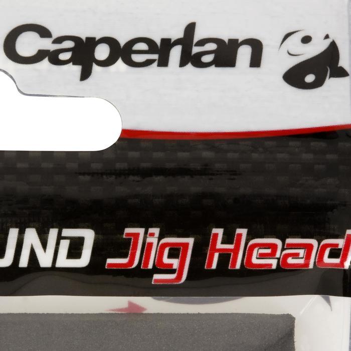 Jigkop voor kunstaashengelen Round Jig Head x 4 - 15 g