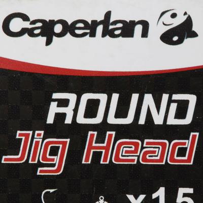 ROUND JIG HEAD x15 7 g Lure Fishing Jig Head