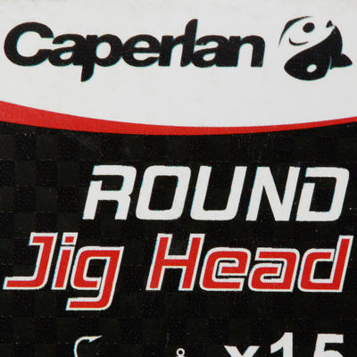 ROUND JIG HEAD x15 10 g Lure Fishing Jig Head