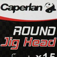 ROUND JIG HEAD x15 10 g Lure Fishing Jig Head