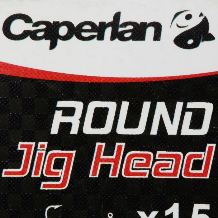 Bleikopf Jig Head ROUND Köderfischen 15 Stück 10 g