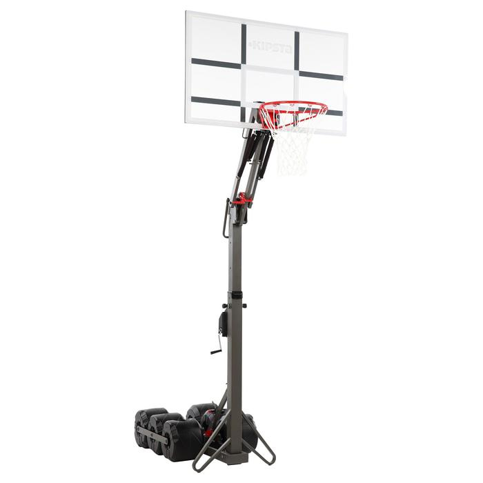 Panier de basket enfant/adulte B900. 2,40m à 3,05m. Se règle et se range en 2mn. - 218777