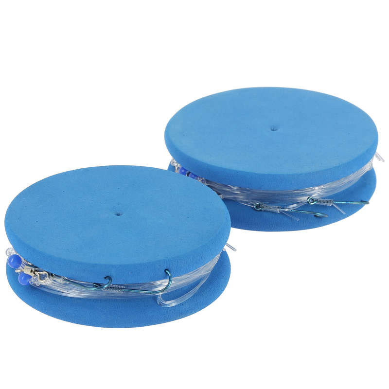 LINII SURFCASTING Pescuit - Set 2 Forfac RL SURF-1 2xH8  CAPERLAN - Pescuit surfcasting