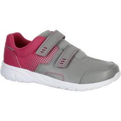 Zapatillas de marcha deportiva para niños Actiwalk 100 gris / rosa