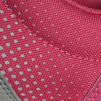 Tenis caminata y deporte en la primaria niños Actiwalk 100 gris / rosa