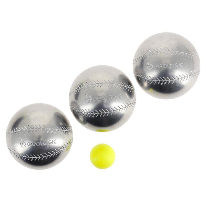 3 BOLAS DE PETANCA DESCUBRIMIENTO 300 BASE-BALL