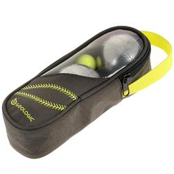 Boulekugeln Discovery 300 Baseball geriffelt Freizeit 3 Kugeln hart