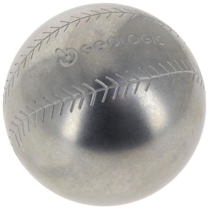 Boulekugeln Discovery 300 Baseball Freizeit 3 Kugeln hart