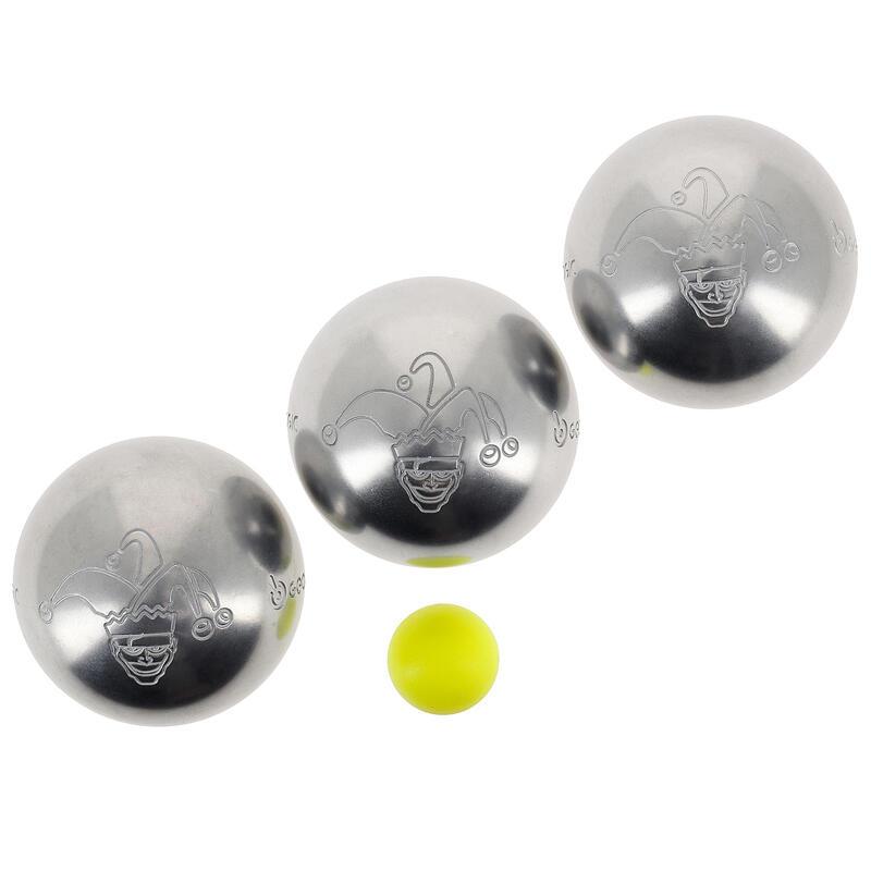 3 petanqueballen Discovery 300 Jester