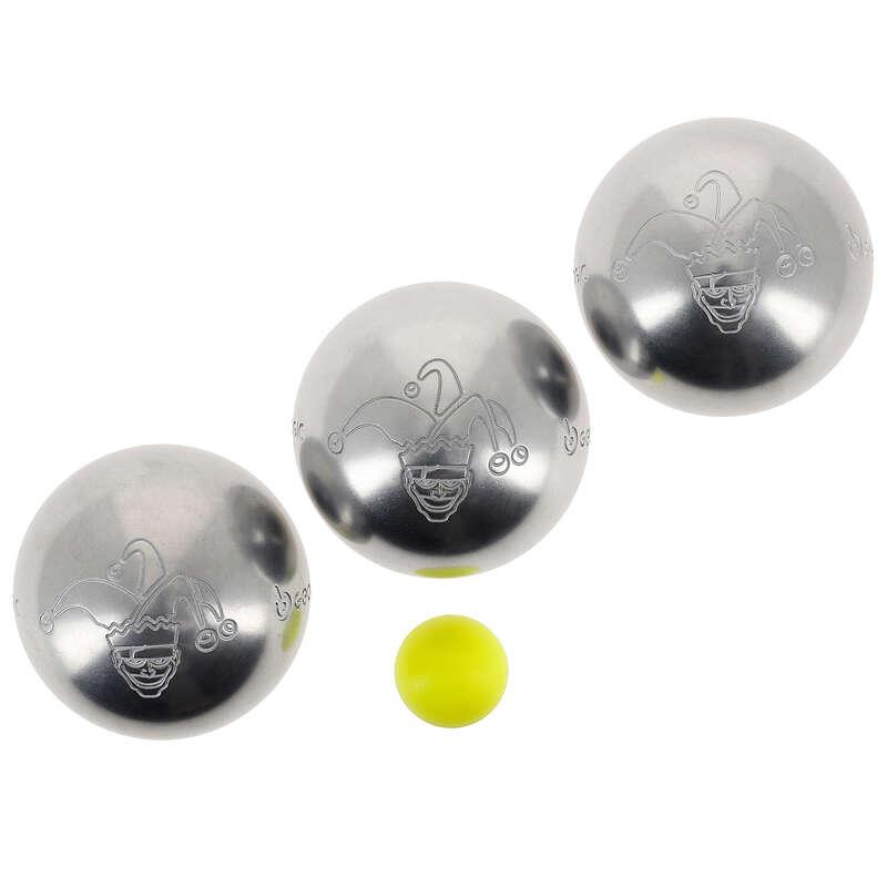 LEISURE PETANQUE BALLS Boules and Petanque - DISCOVERY 300 JESTER BOULES GEOLOGIC - Boules and Petanque