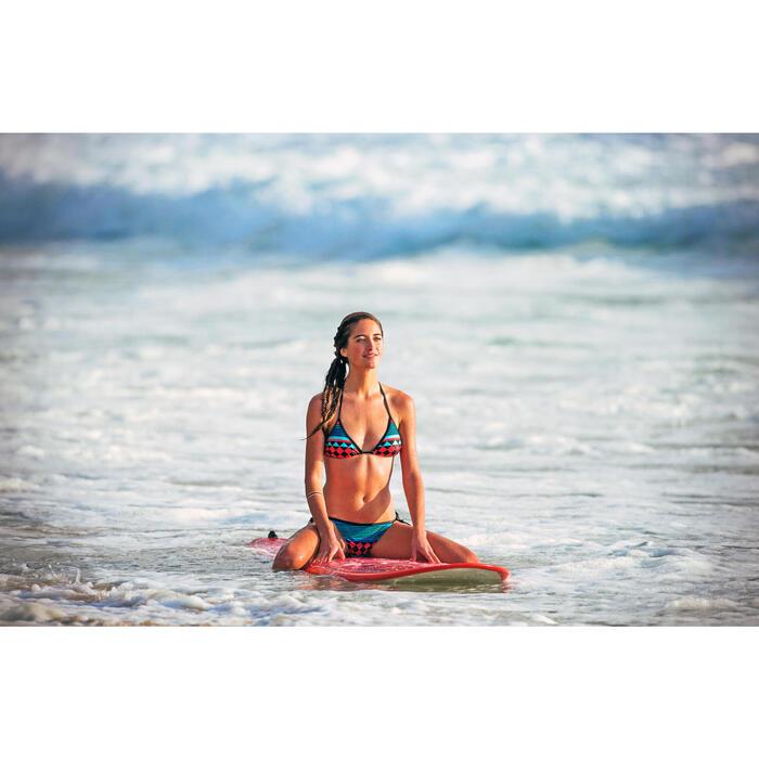 Bikinibroekje Sofy Portofino met striksluiting blauw