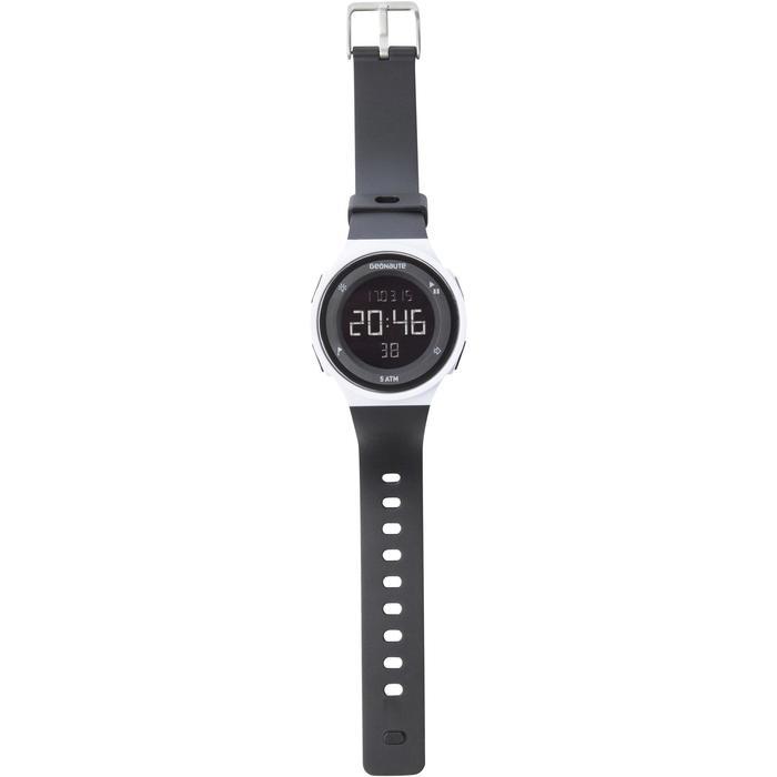 Reloj cronómetro running hombre W500 M blanco