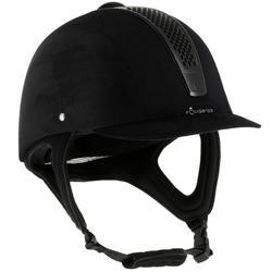 Paardrijcap C700 zwart