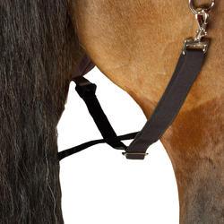 Buitendeken Allweather 300 1.000 D kastanjebruin - pony en paard - 24836