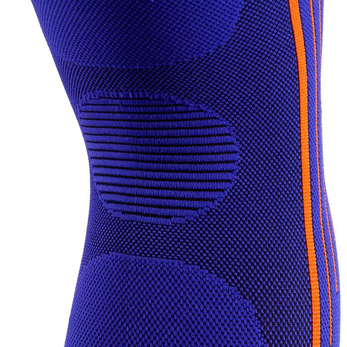 Genouillère de maintien compressif gauche/droite pour homme/femme SOFT 300 bleue