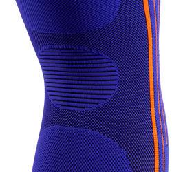 Kniebandage Soft 300 links/rechts Erwachsene blau