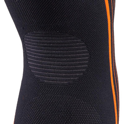 Soft 300 Men's/Women's Right/Left Compression Knee Support - Black