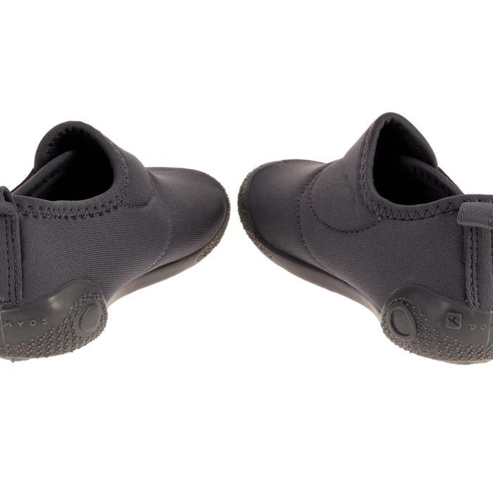 Zapatillas gimnasia infantil ULTRALIGHT gris oscuro