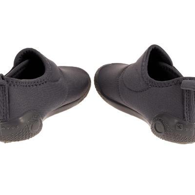 Ultralight Baby Gym Bootees - Dark Grey
