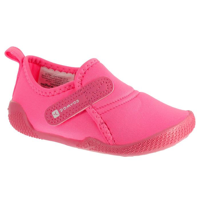 Zapatillas primeros pasos 100 ULTRALIGHT GIMNASIA rosa