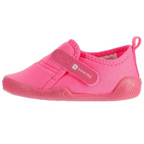 chaussons 100 ultralight gym rose domyos by decathlon. Black Bedroom Furniture Sets. Home Design Ideas
