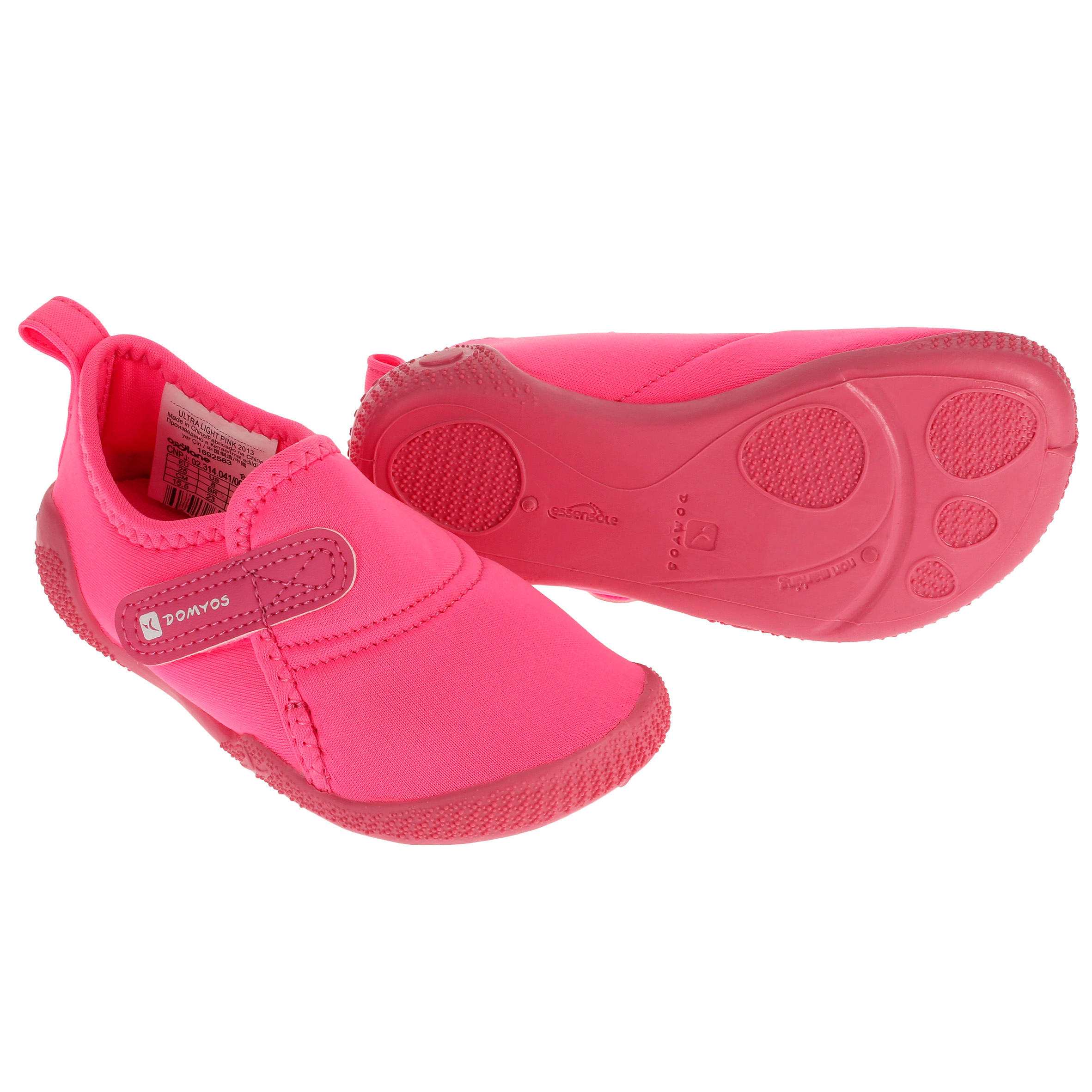 Babygymschoentjes Ultralight roze