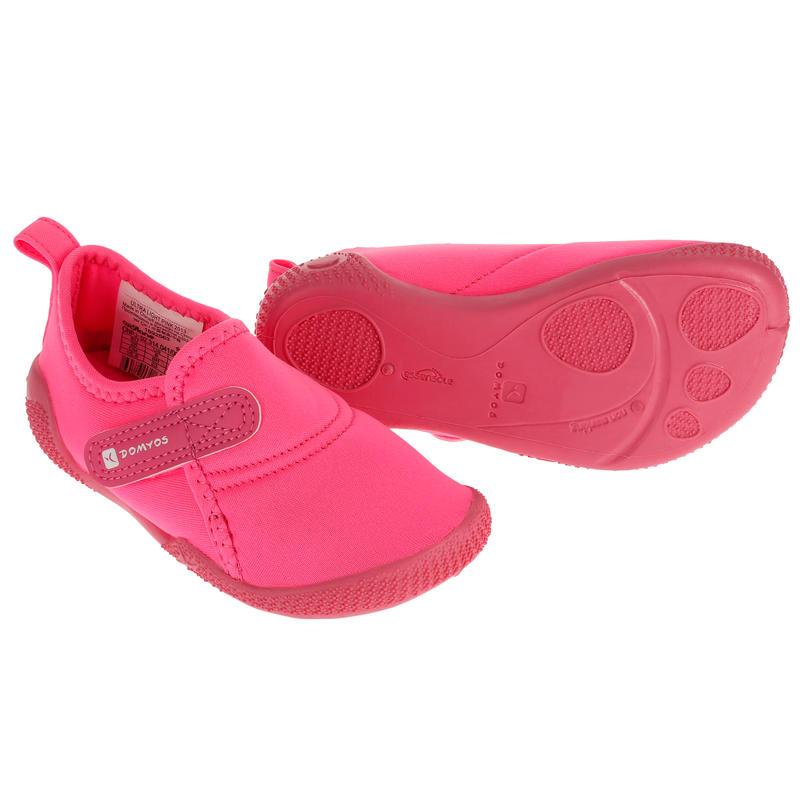 Zapatillas primeros pasos 100 ULTRALIGHT GIMNASIA rosado