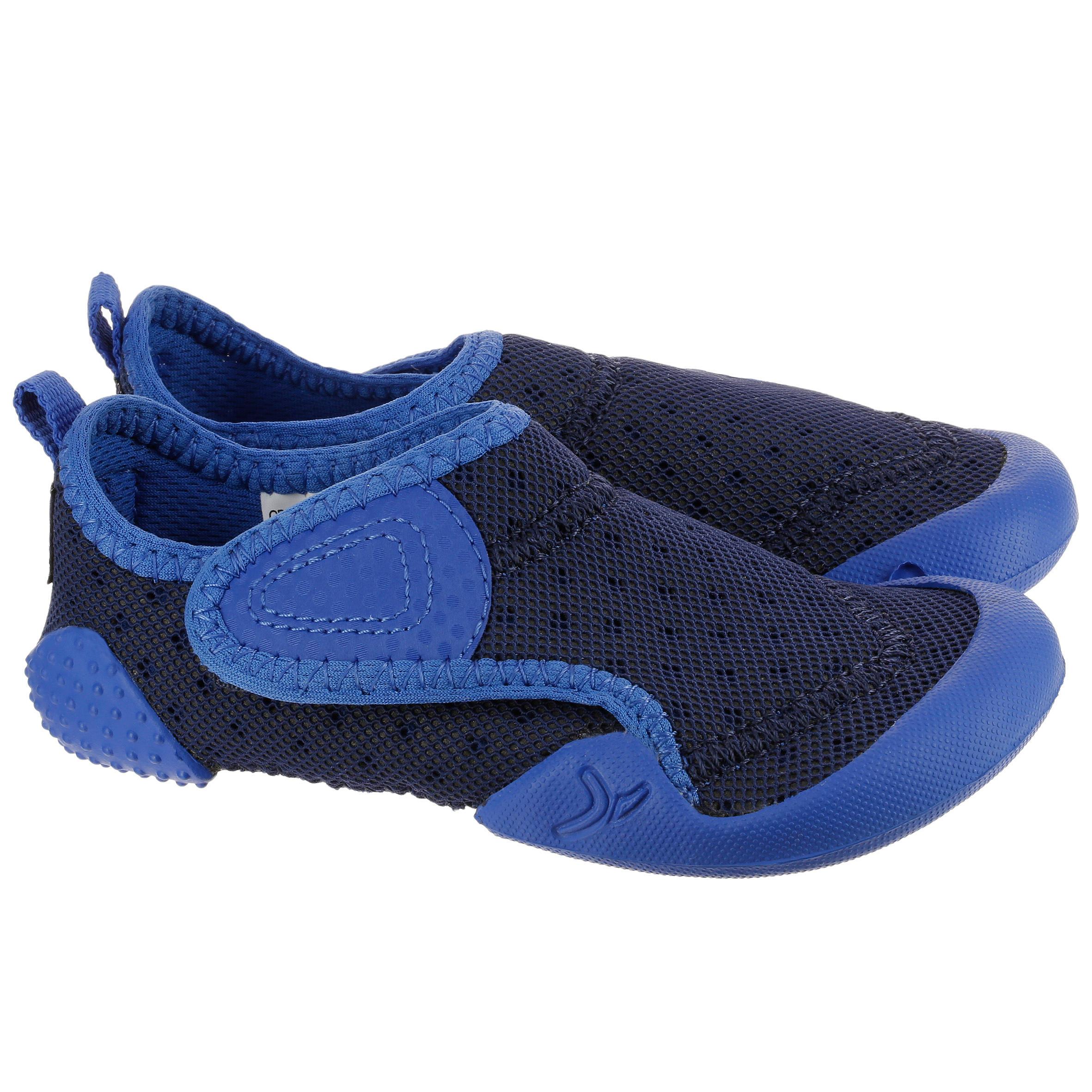 Schoentjes voor kleutergym Babylight blauw