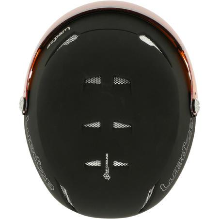 Stream 550 S2 Adult Ski and Snowboard Helmet - Black.