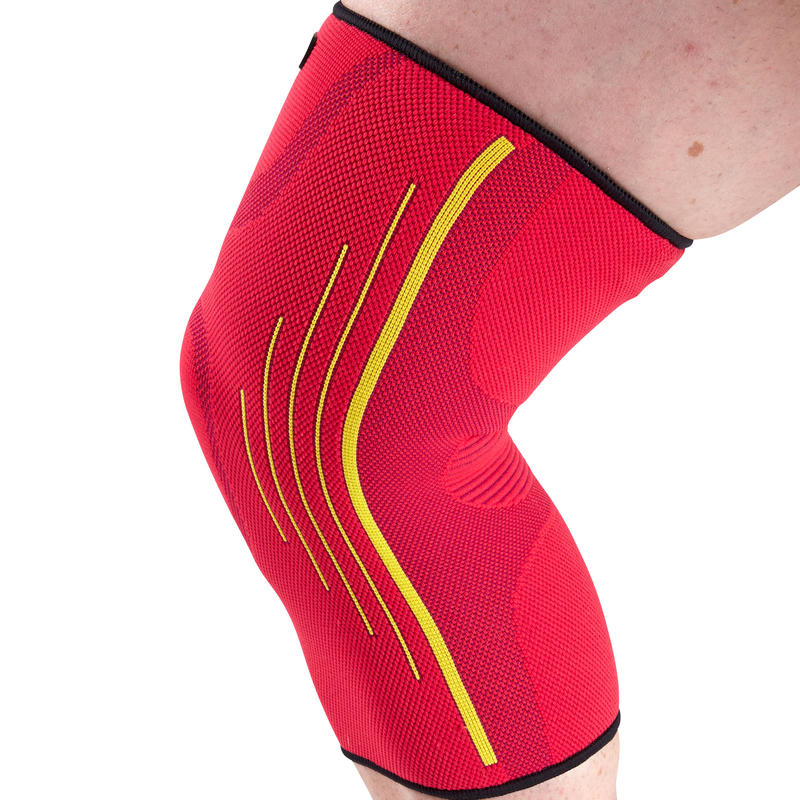 Soft 300 Right/Left Men's/Women's Compression Knee Support - Pink