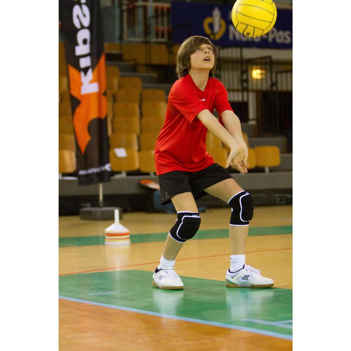 Ballon de volley-ball intérieur V100 jaune