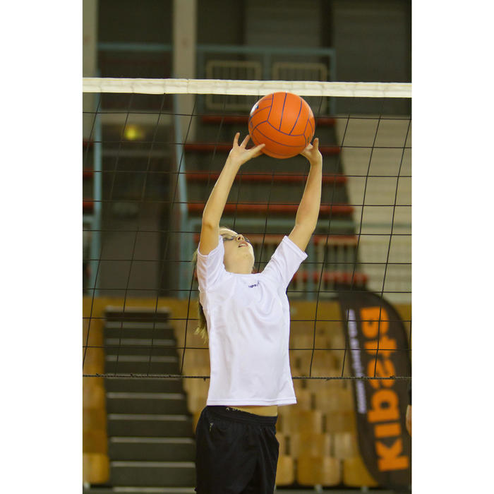 Bal indoorvolleybal V100 oranje