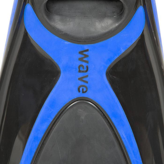 Zwemvliezen Wave duiksport blauw