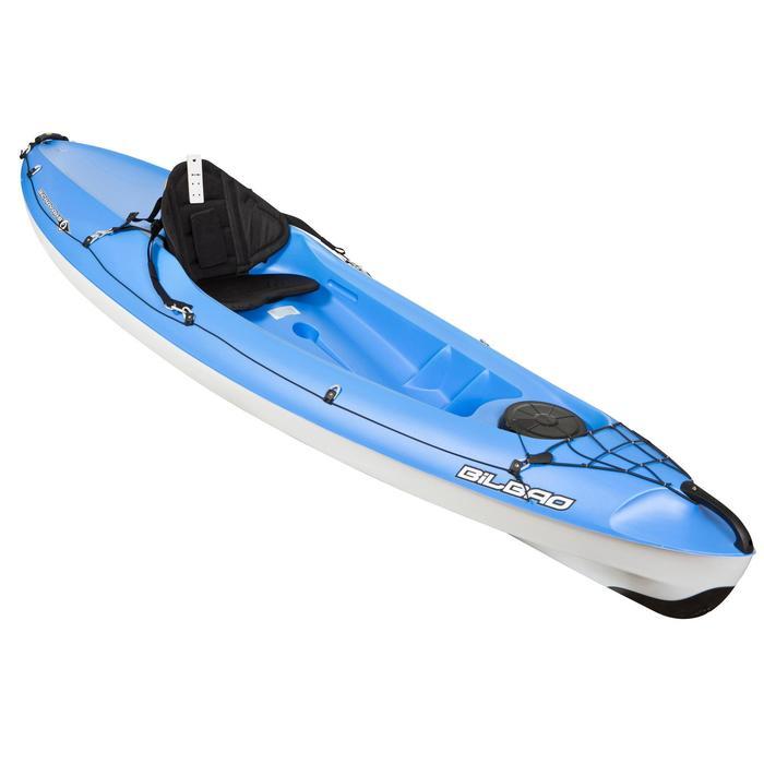 PRODUCTO REACONDICIONADO: Kayak Canoa Rígido de Travesía Bickayaks BILBAO 1Plaza