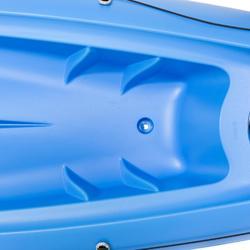Stijve kajak Bilbao blauw 1 persoon