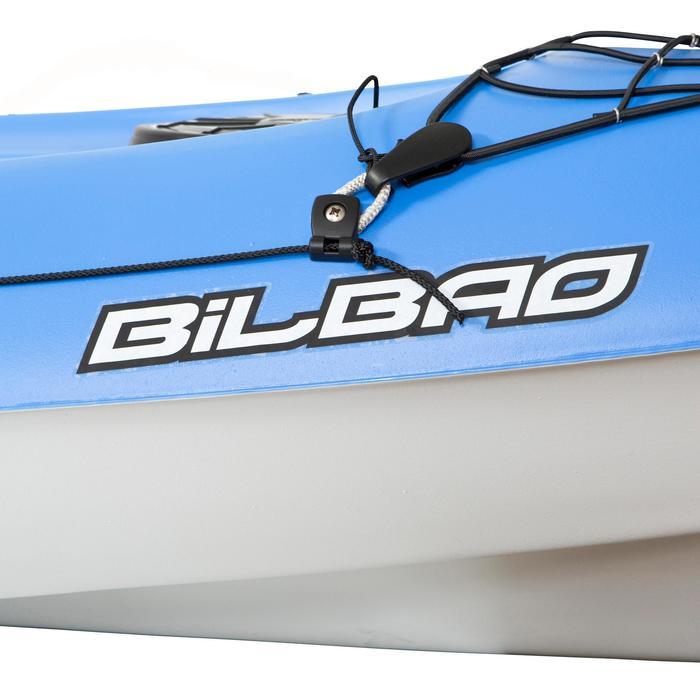 Kayak Canoa Rígido de Travesía Bickayaks BILBAO 1 Plaza Azul