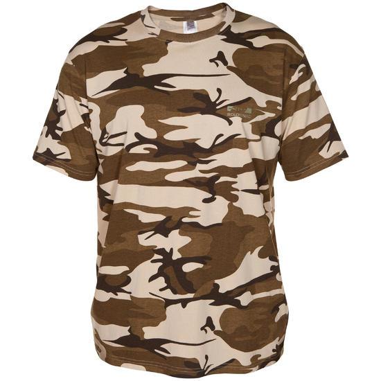 T-shirt Steppe 100 met korte mouwen - 258785