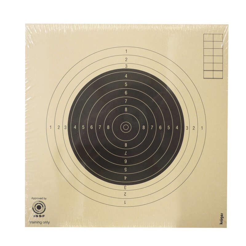 OPREMA ZA STRELJAŠTVO Streljaštvo - Meta za pušku 50 m 100 komada KRUGER DRUCK PLUS VE - Malokalibarsko streljaštvo
