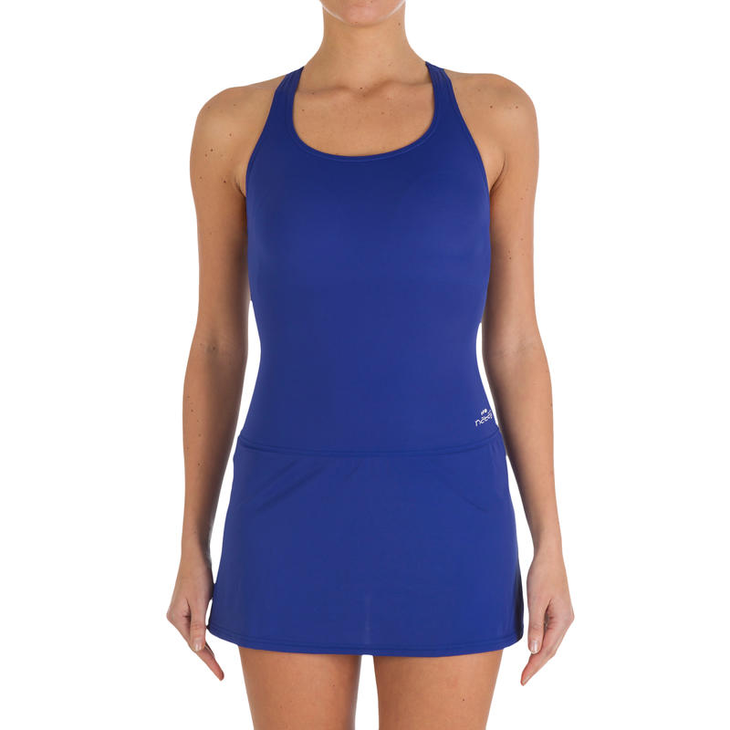 Women Swimming Costume Leony Skirt - Blue
