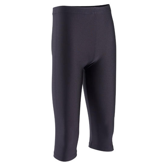 Kuitbroek voor gym meisjes (AG en RG) zwart. - 262062