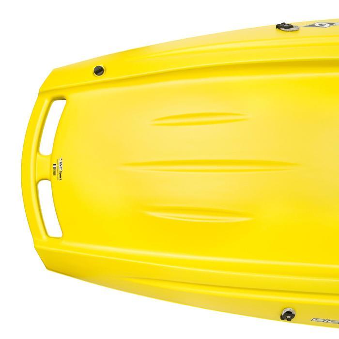 Kajak Ouassou 1-persoons geel