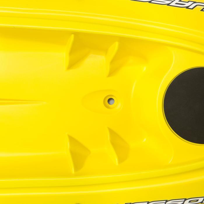 Producto Reacondicionado Kayak Rígido Travesia Bicsup OUASSOU 1 Plaza Amarillo